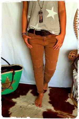 Biker Jeans in toller Farbe passt Gr. S bis M
