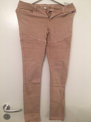 Noisy May Biker jeans rosé