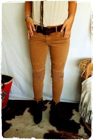 Biker Jeans tolle Herbstfarbe passt M-L