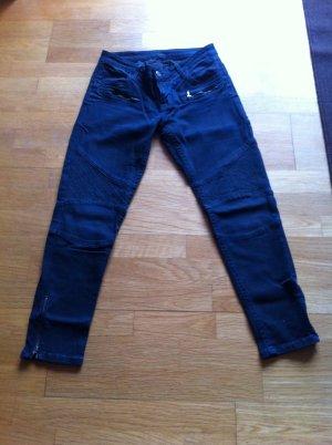 Biker Jeans von blue fire, Gr.27 in dkl. blau