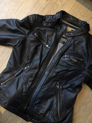 Biker Lederjacke aus echtem Leder