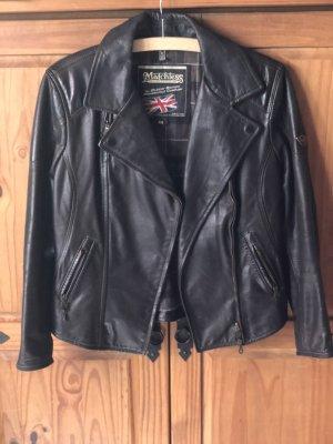 Biker Lederjacke von Matchless braun schwarz