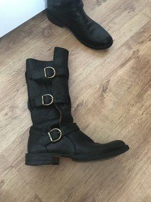 Fiorentini & baker Biker Boots black leather