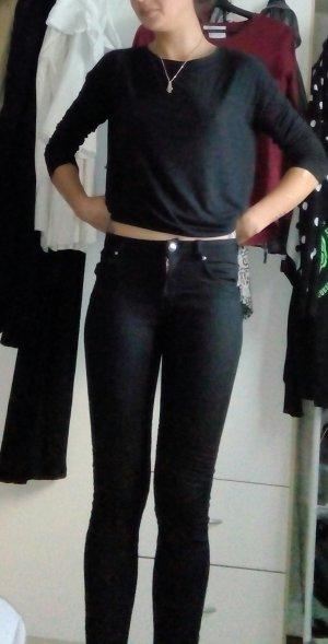 H&M Jeans de moto noir