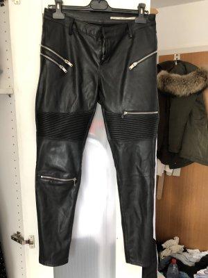 Zara Pantalone in pelle multicolore