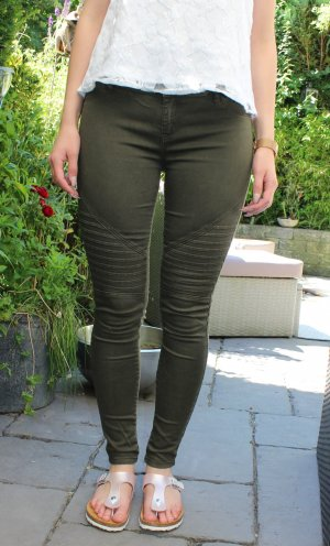 Bikerhose von Review in khaki