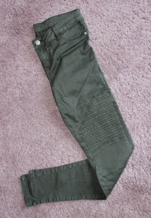 Review Pantalón de tubo caqui-gris verdoso