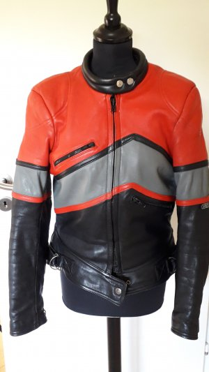 Raberg Biker Jacket multicolored leather