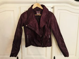 C&A Biker Jacket purple-brown violet