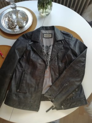 Punchball Biker Jacket dark grey