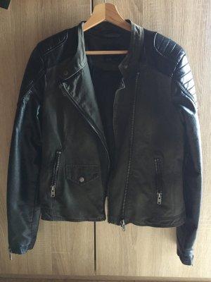 Amisu Bikerjack zwart-groen-grijs