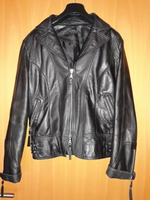 Apanage Leather Jacket black leather