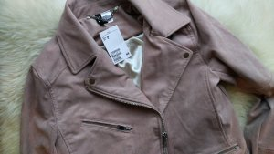 Bikerjacke aus Wildlederimitat in Altosa