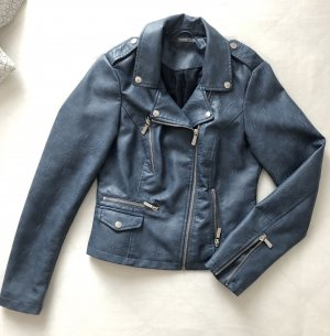 C&A Biker Jacket steel blue