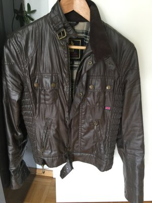 Belstaff Biker Jacket anthracite-green grey