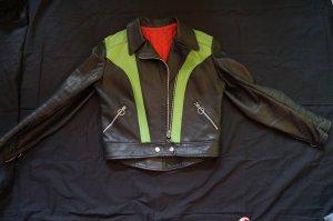Biker Jacket black-green