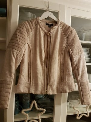 H&M Biker Jacket camel mixture fibre
