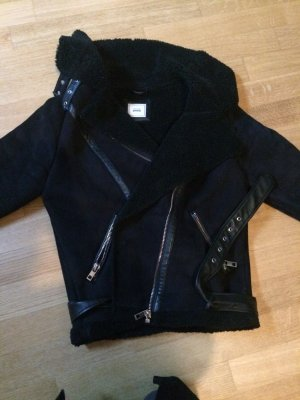 Bikerjacke in Wilderoptik