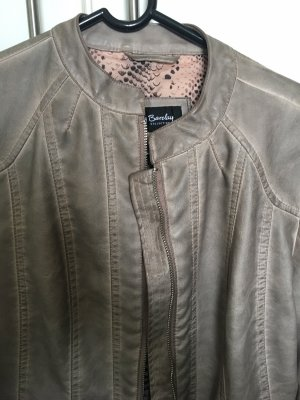 Betty Barclay Faux Leather Jacket multicolored