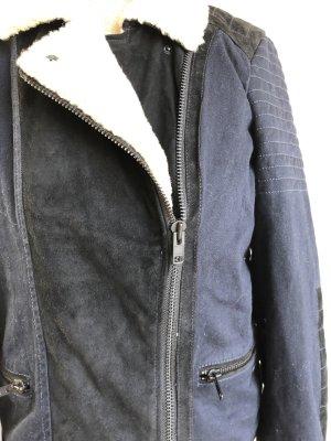 Maison Scotch Biker Jacket black-dark blue