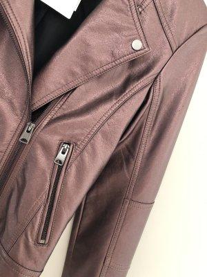 C&A Biker Jacket rose-gold-coloured-bordeaux