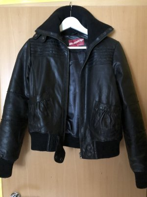 BlendShe Leather Jacket black