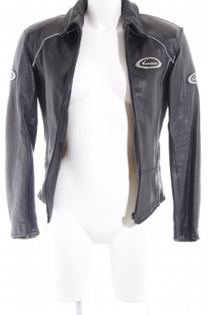Biker Jacket black biker look