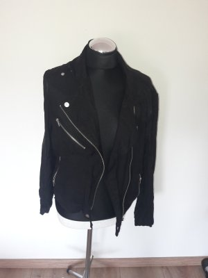 Second Female Veste motard noir
