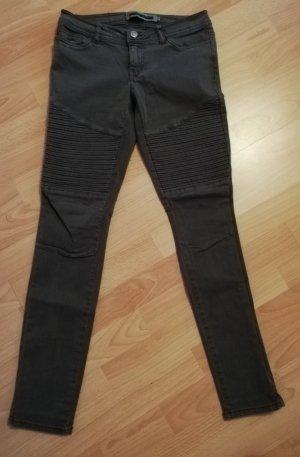 Noisy May Biker jeans groen-grijs