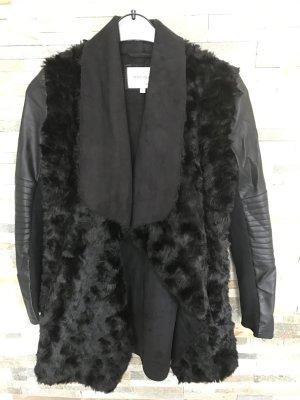 River Island Coat black