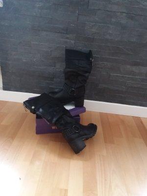 Slappe laarzen zwart