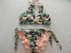 Atmosphere Bikini green-pink
