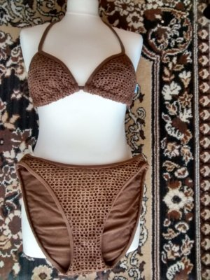 Bikini marrone-cognac
