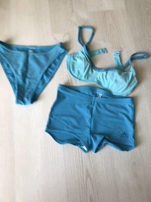 Adidas Originals Bikini turquoise-steel blue