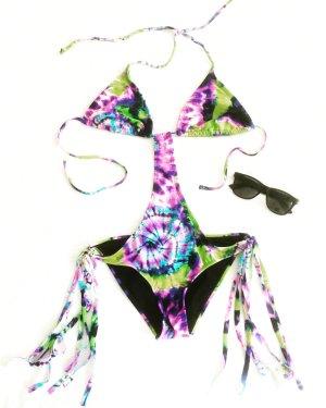 bikini / badeanzug / vintage / batik / beachwear / bohostyle / hippielook