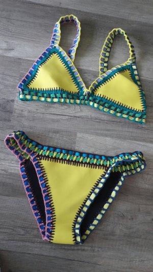 Bikini Blogger Trend Crochet Neopren