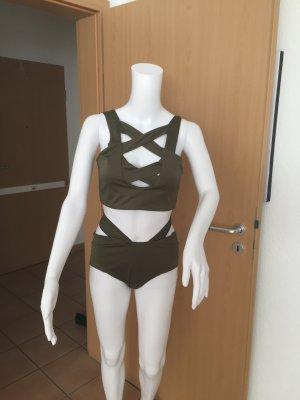 Bikini Gr. XL in grün