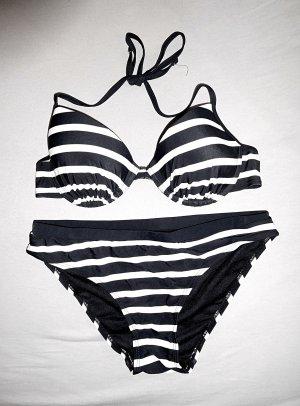 Bikini / H&M / 80 B 40 / Streifen vintage Blogger
