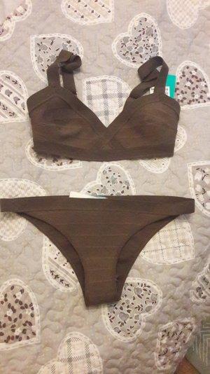 Bikini H&M Khaki Oliv Bandage Style Bodycon Wrap