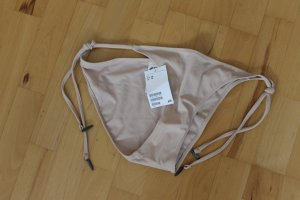 Bikini Hose, Unterteil, nude, creme, Kupfer, rosegold, H&M, Gr. 40 - NEU