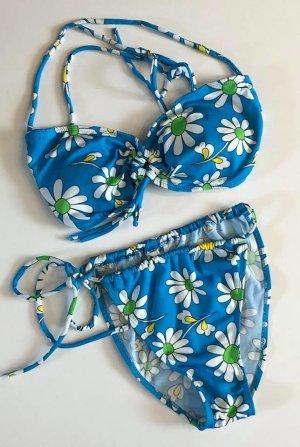 Bikini light blue-white
