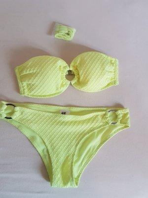 Bikini in Neongelb Gr. 38
