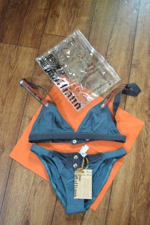 Bikini John Galliano Mare Donna Gr. 42 Neu noch verpackt Top