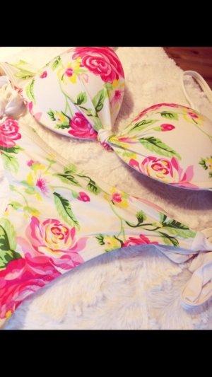 Bikini mit Blumenprint