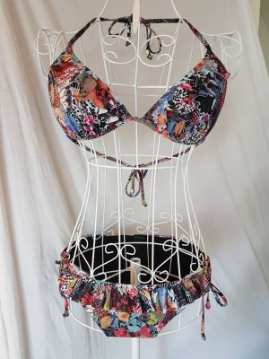 Bikini mit Floralem Muster Gr. 38