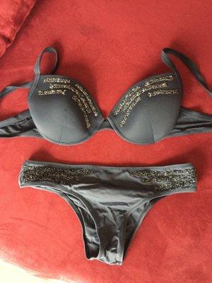 Bikini mit Glitzer