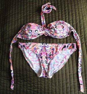 Bikini mit Paisley Muster