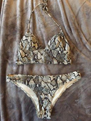 Bikini mit Schlangenprint