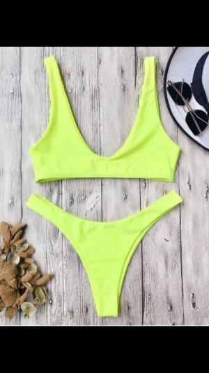 Bikini Neongelb NEU zu verkaufen