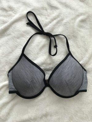 H&M Bikini zwart-grijs